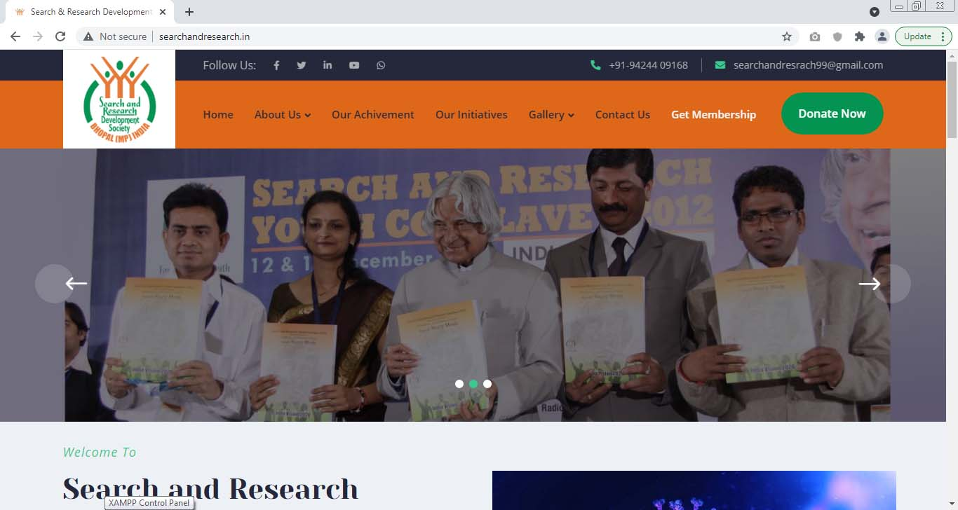 Search and Research Development Society